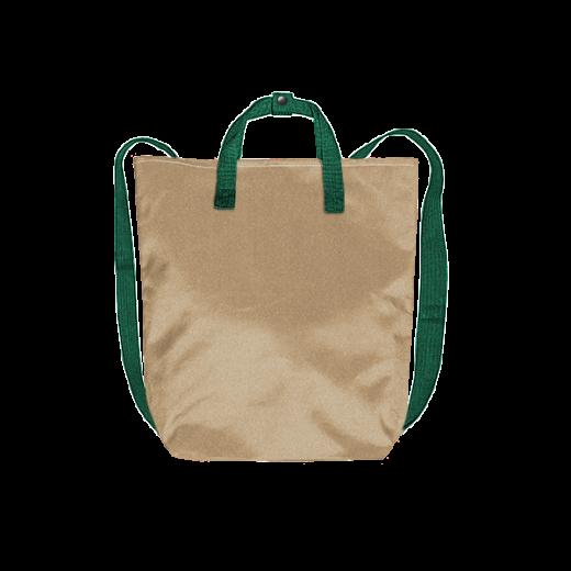 beżowy plecak minimal na zamek