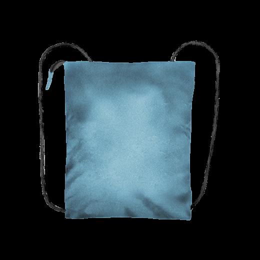 błękitny plecak biznes z kodury