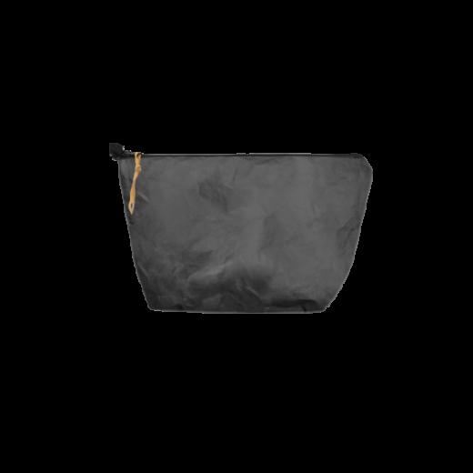 czarna saszetka na zamek z washable paper