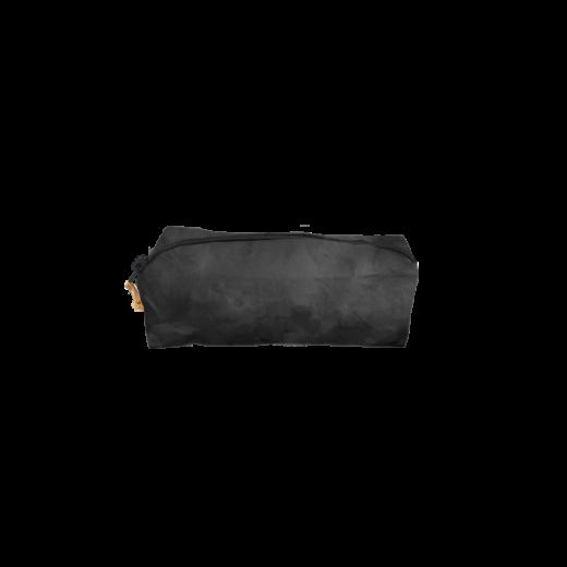 czarny piórnik z washable paper na zamek