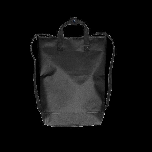 czarny plecak urban z kodury na zamek