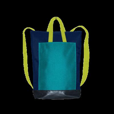granatowy plecak