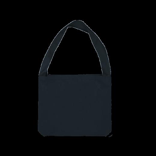 granatowa torba z uchem