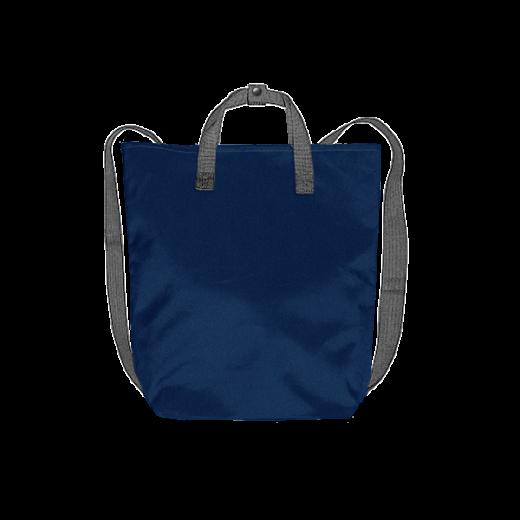 granatowy plecak minimal szare pasy