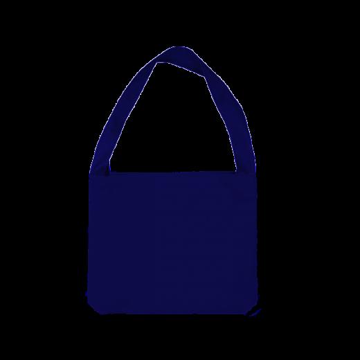 niebieska torba z jednym uchem