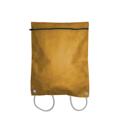 plecak koperta z kodury na sznurkach