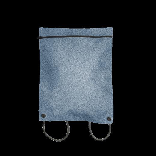 plecak koperta z szarego filcu