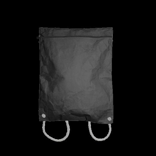 plecak z czarnego washable paper