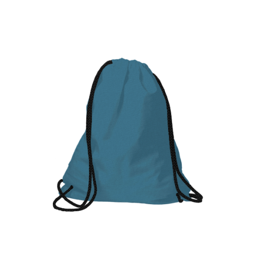 poliestrowy worek na plecy turkusowy