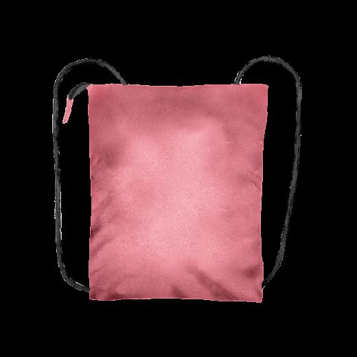 pudrowy róż plecak biznes z kodury