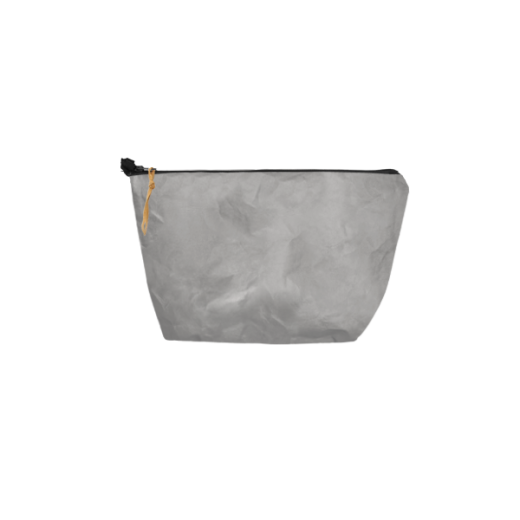 saszetka na zamek z washable paper szara