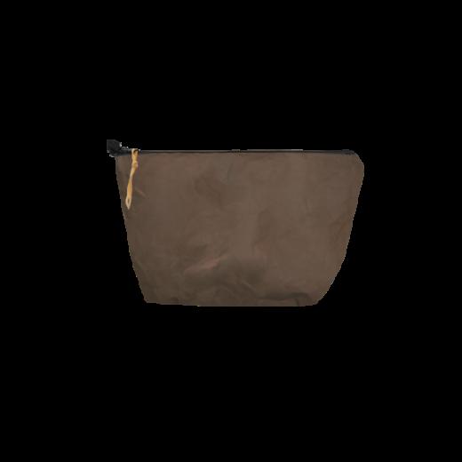 saszetka z washable paper na zamek brąz
