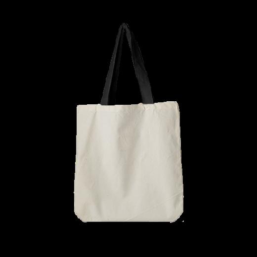 torba standard bawełniana z czarnymi uszami