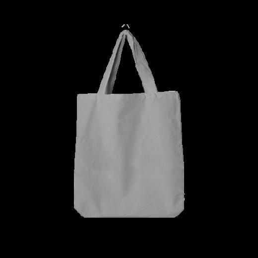 torba oversize koloru szarego