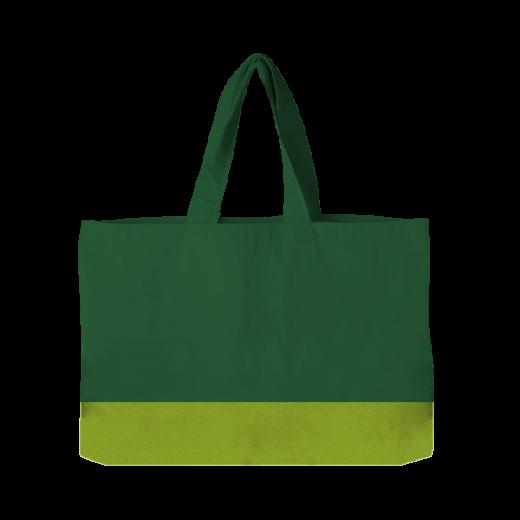 torba pozioma zielona