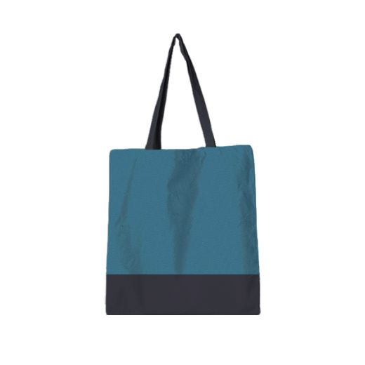 torba standard turkusowo-szara